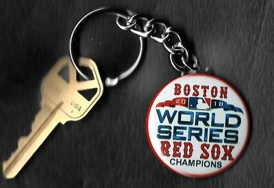 2018 World Series Boston Red Sox Champions LOGO Keychain Key Chain