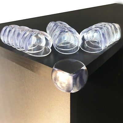 20 pcs Baby Safety Corner Guards - Baby Proofing Clear Corner Protector Kit