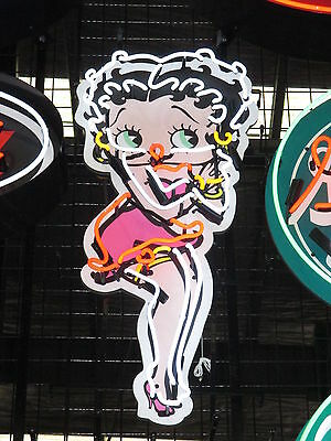 Betty Boop - Large - Neon Sign - 86 X 40 - Vintage - Retro - Brand New