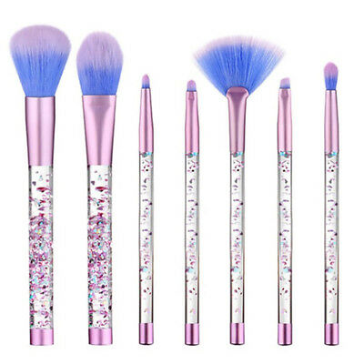 Glitter Crystal Make-up Pinsel Set Professionelle Pinsel