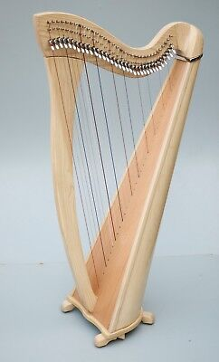 Daisy 34 Strings Lever Harp by Mikel Harps, New Arrival Introductory Price