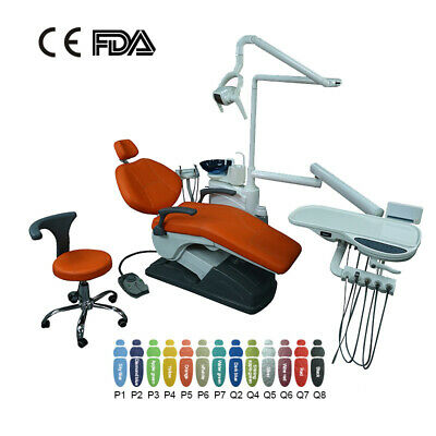 Dental Unit Chair Computer Controlled DC Motor TJ2688 C3 with Doctor stool