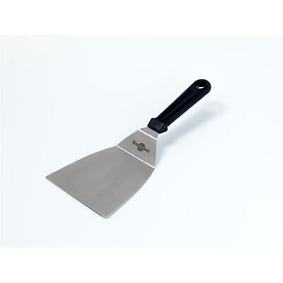 Stainless steel angled spatula