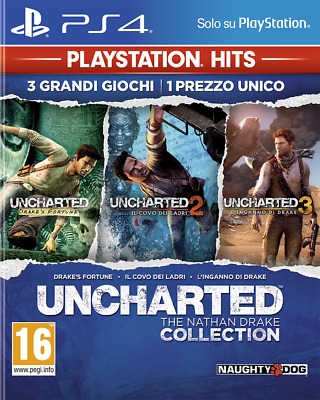 Ps4 Uncharted: The Nathan Drake Collection - Ps Hits  Disponibili