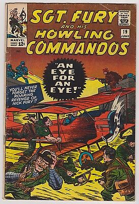 Sgt. Fury and His Howling Commandos #19 - Very Good - Fine Condition'