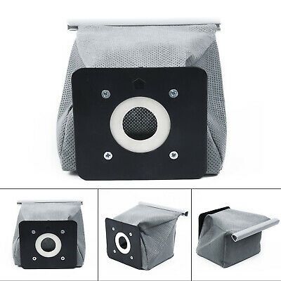 1Pcs Portable Universal Vacuum Cloth Bag Reusable Cleaner Dust Bags Hot Grey