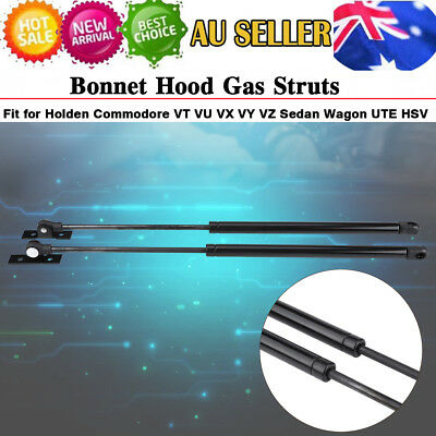 Bonnet Gas Struts Suit Holden Commodore VT VU VX VY VZ Front Hood Left & Right