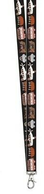 Munupi Aboriginal Art Lanyard - Off to the Footy by Debbie Coombes