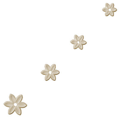 Orchard Products 4 Pcs PETAL Flower Icing Sugarcraft Cutters Cake Decor