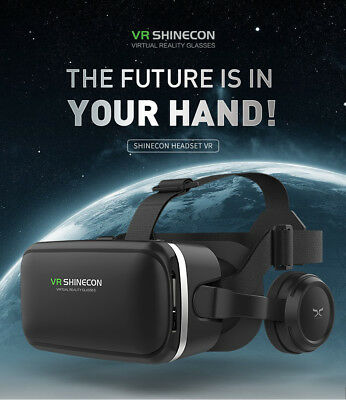 Virtual Reality VR Headsets 3D Video Glasses Box For Android IOS IPhone Samsung