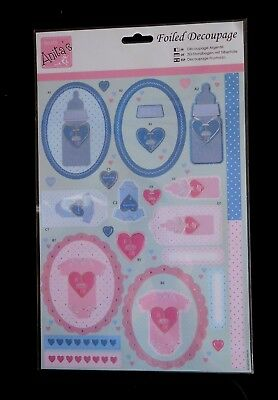 Docrafts Anitas Decoupage Foiled Sweet Treats
