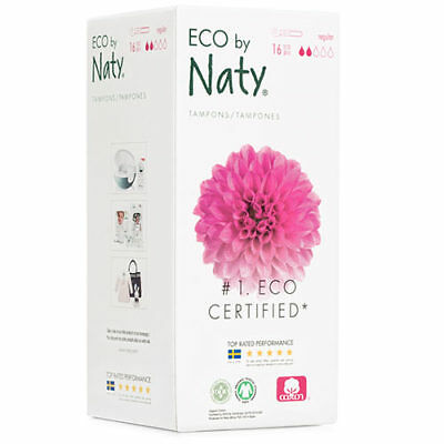 Naty Eco Tampons normal mit Applikator, (16 Stck)