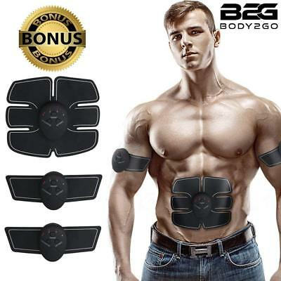ABS Stimulator & Muscle Toner Ultimate Portable Unisex Abdominal Home Office Fit