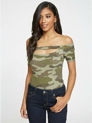 2bfa62439aa12 G BY GUESS Imani Cold-Shoulder Top -  17.49