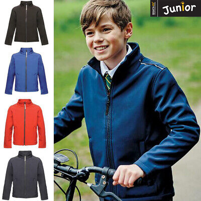 Regatta Junior Classmate Softshell Water/Wind resistant Children Casual Jacket