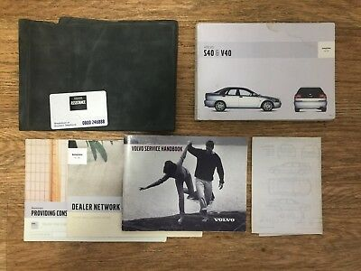 volvo v40 owners manual 2000