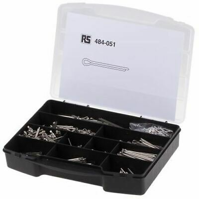 1025 piece Plain Stainless Steel Metric Cotter Pin Kit A2 304,