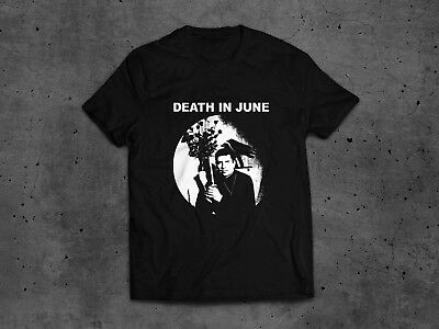 DEATH IN JUNE - Douglas SHIRT #L Forseti Current 93 Sol Invictus Blood Axis Coil