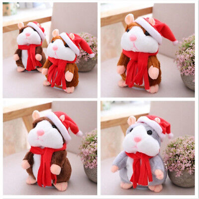 Cheeky Hamster Talking Mouse Pet Christmas Toy Speak Sound Record Hamster Gift B