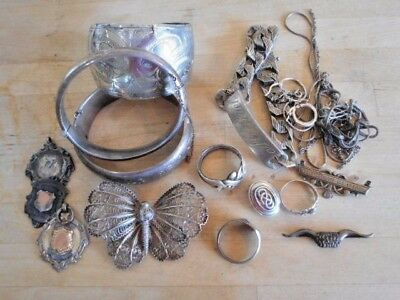 Collection Of Vintage Antique Jewellery For Repair Or Sale Scrap