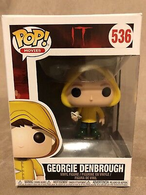 Funko Pop! Movies: IT- Georgie Denbrough With Boat #536