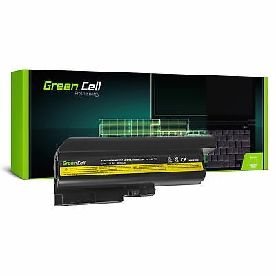 Green Cell Batterie pour Lenovo IBM ThinkPad R60 R61 R61i T60 T61 T61p 6600mAh