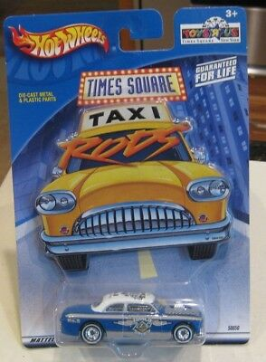 Hot Wheels Toys R Us Exclusive Nyc Times Square Ford Shoe Box Taxi