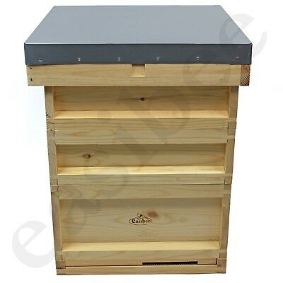 National Bee Hive Bee Keeping Pine 2 Super 1 Brood Beekeeping Beehive Easibee