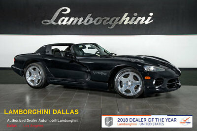 1999 Dodge Viper  LOW MILES!!+SECURITY ALARM+ALPINE STEREO+KEYLESS ENTRY+LEATHER+HALOGEN+SOFT TOP