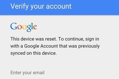 FRP All Android Device (Google Lock Bypass-Removal)