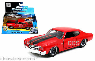 Dom's Chevrolet Chevelle Ss Red Fast & Furious Movie 1/32 By Jada 97380