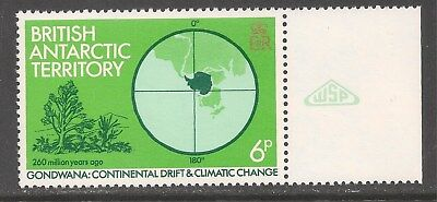 British Antarctic Territory #87 (A11) VF MNH - 1982 6p Shrubs / Climate Change