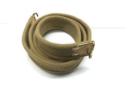 WWII Lee Enfield KHAKI cloth Sling with 1944 stamp