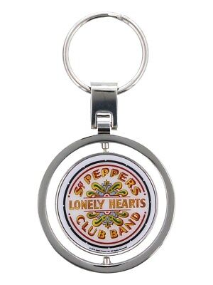 The Beatles Keyring SGT Pepper Keychain 4.7 x 4.7cm