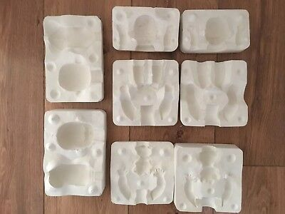 """Doll Casting Moulds To Make A 6"""" All Porcelain Doll. & A 5"""" Soft Body Doll"""