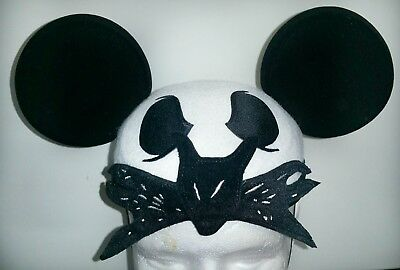 Disney Parks Jack Skellington Nightmare Before Xmas Mickey Ears Hat Halloween