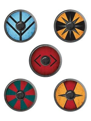 Lot de badges mixtes Viking Shields
