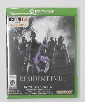 Brand New! Resident Evil 6 - Xbox One - French Canadian Packaging - READ