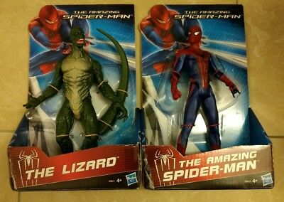 Hasbro Spiderman + Lizard Action Figur Set 22cm Spielfigur Marvel Held Sammler