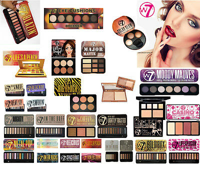W7 Eyeshadow Eye Shadow Palette - In the Buff, Nude, Toasted, Night, and more!!
