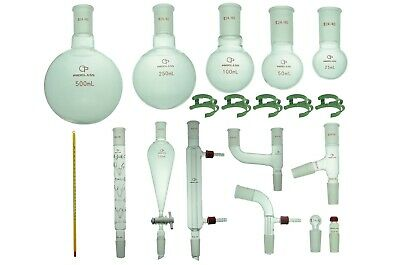 Proglass Organic Chemistry Kit 24/40 Lab Glassware kit