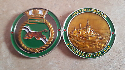 HMCS Fredericton Royal Canadian Navy Collectible Challenge Coin