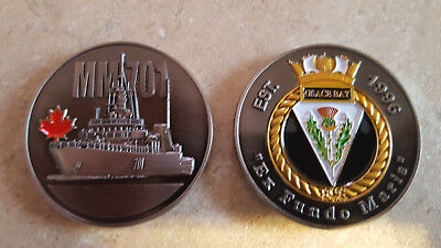 HMCS Glace Bay Royal Canadian Navy Collectible Challenge Coin