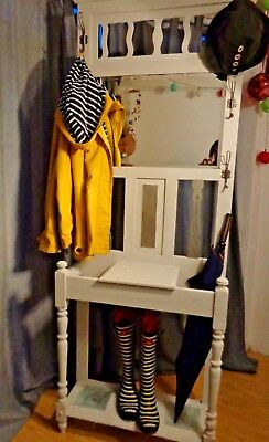 Upcycled Victorian Hall Coat Stand , Antique / Vintage