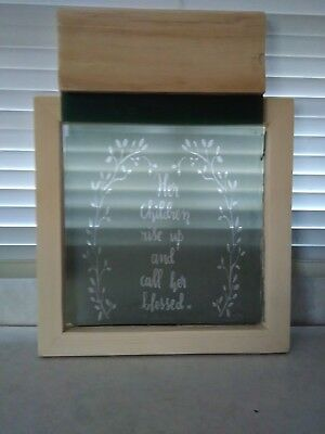 Silk Screen Frame with Image in Pic with Squeege 160 Mesh