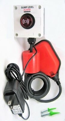 Indoor Outdoor SUMP PUMP ALARM 110 / 220 VAC Well Overflow, Sewage Power Failure