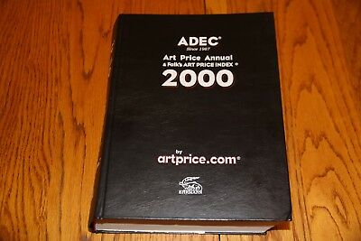 ADEC Art Price Annual & Falk's Art Price Index 2000 in  good condition