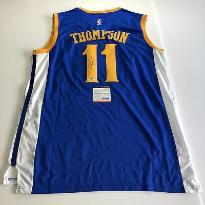 KLAY THOMPSON SIGNED Autographed Golden State Warriors Jersey! JSA ... 86aec0db3