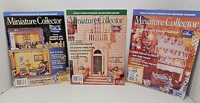 Miniature Collector Dollhouse Magazines Prairie Style Houses
