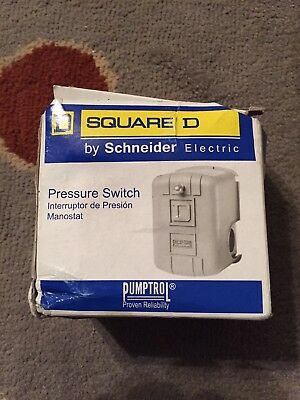 "40/60psi, Square D, Water Pump Pressure Switch, #9013FSG2 1/4""FPT, SQ-D"